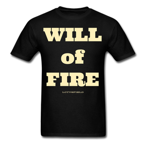 Will of fire tee - black