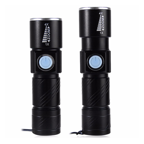 Powerful USB LED Flashlight
