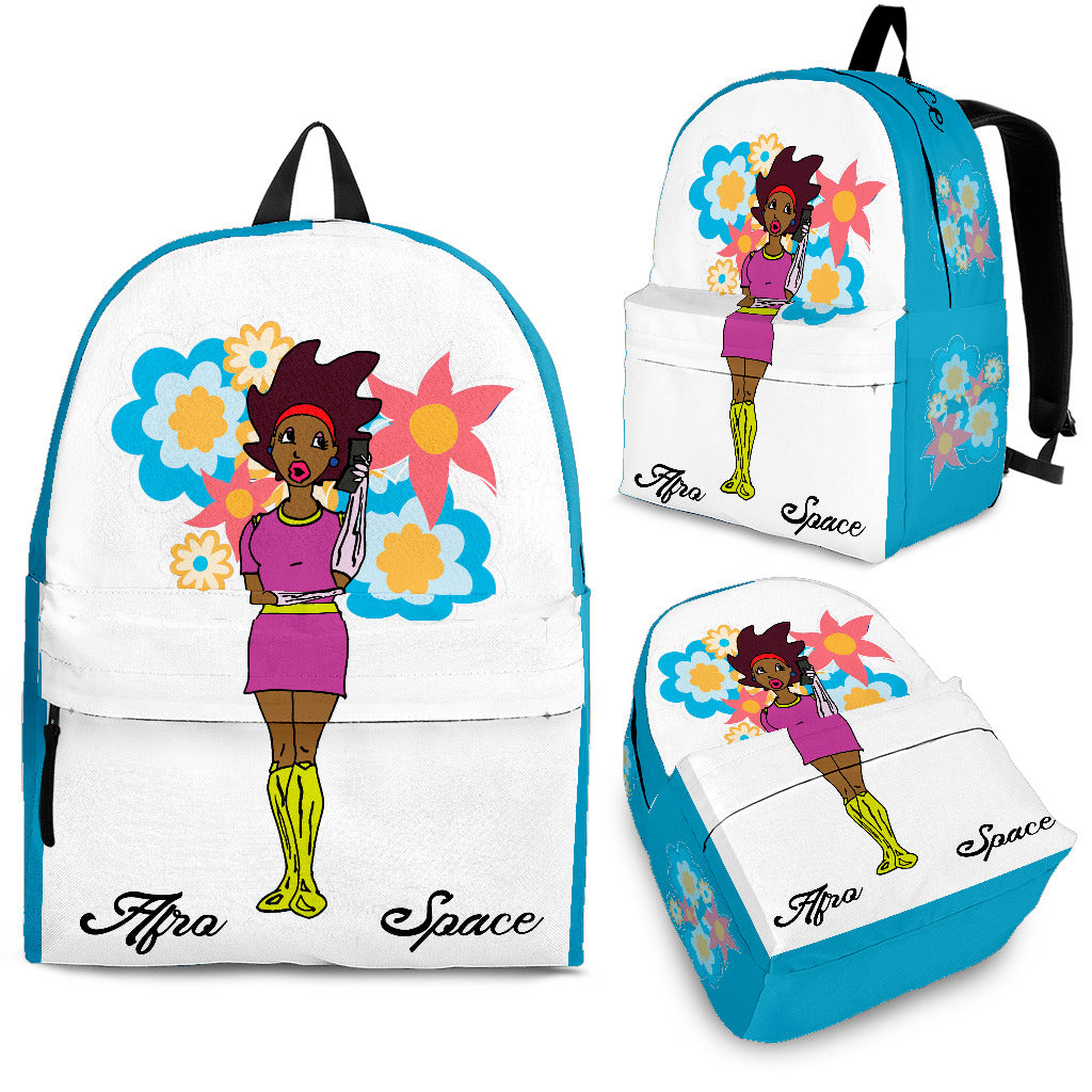 Afro Space Girls Back Pack