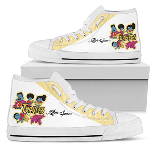 Turner Limited Edition Shoes - Afro Space