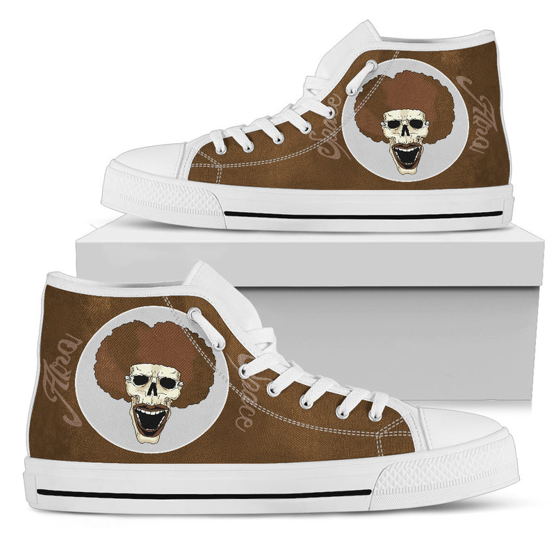 Afro Space Mens Smiley High Top 3.0 - Afro Space