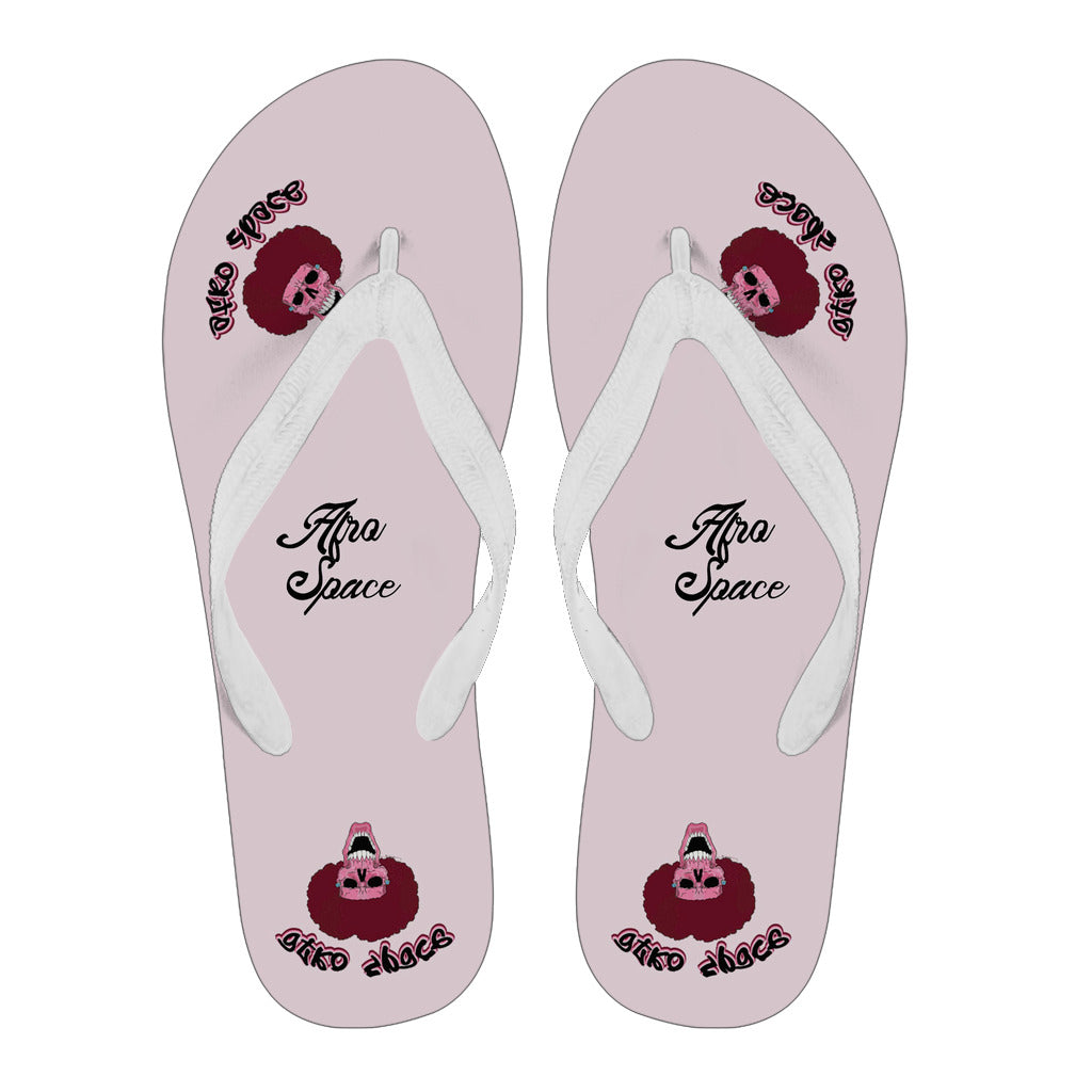 Afro Space Pink Afro Flips Flops 3.1
