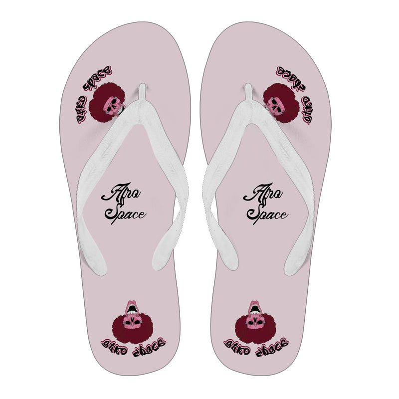 Afro Space Pink Afro Flips Flops 3.1 - Afro Space