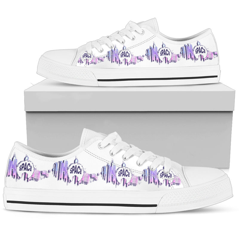 Afro Space Womens Low Purple 3.3 - Afro Space