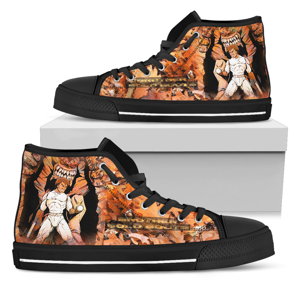 Afro Space Mens BGB High Top