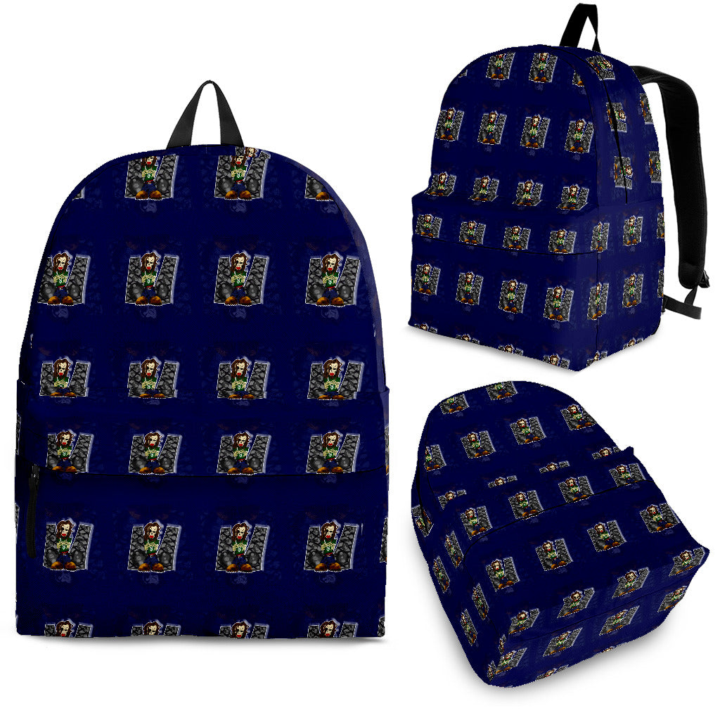 Afro Space Got Beats! Back Pack - Afro Space