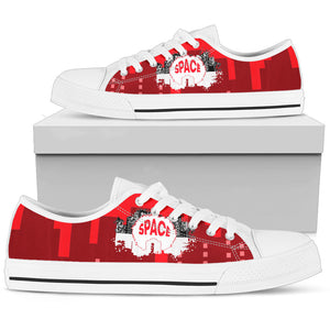 Afro Space Red Men Low Cut 3.0 - Afro Space