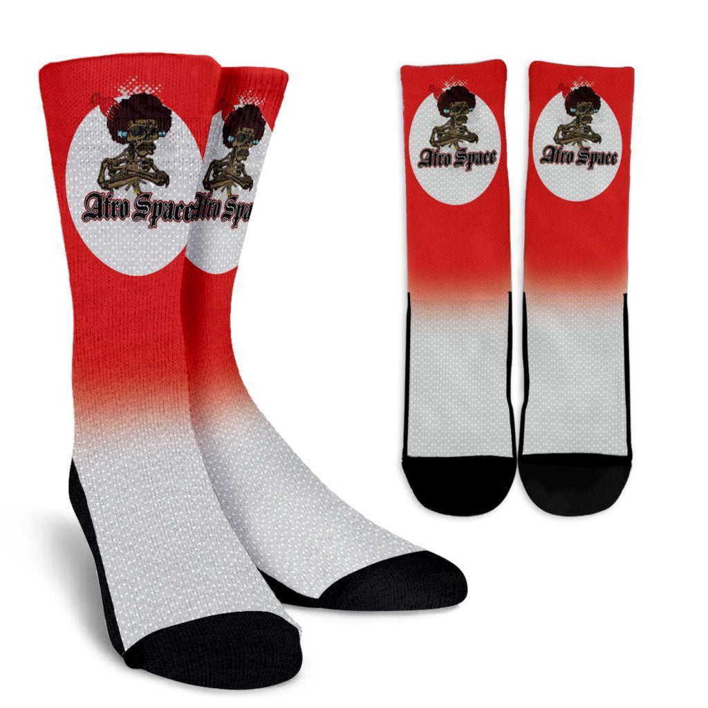 Afro Space Bro Socks - Afro Space