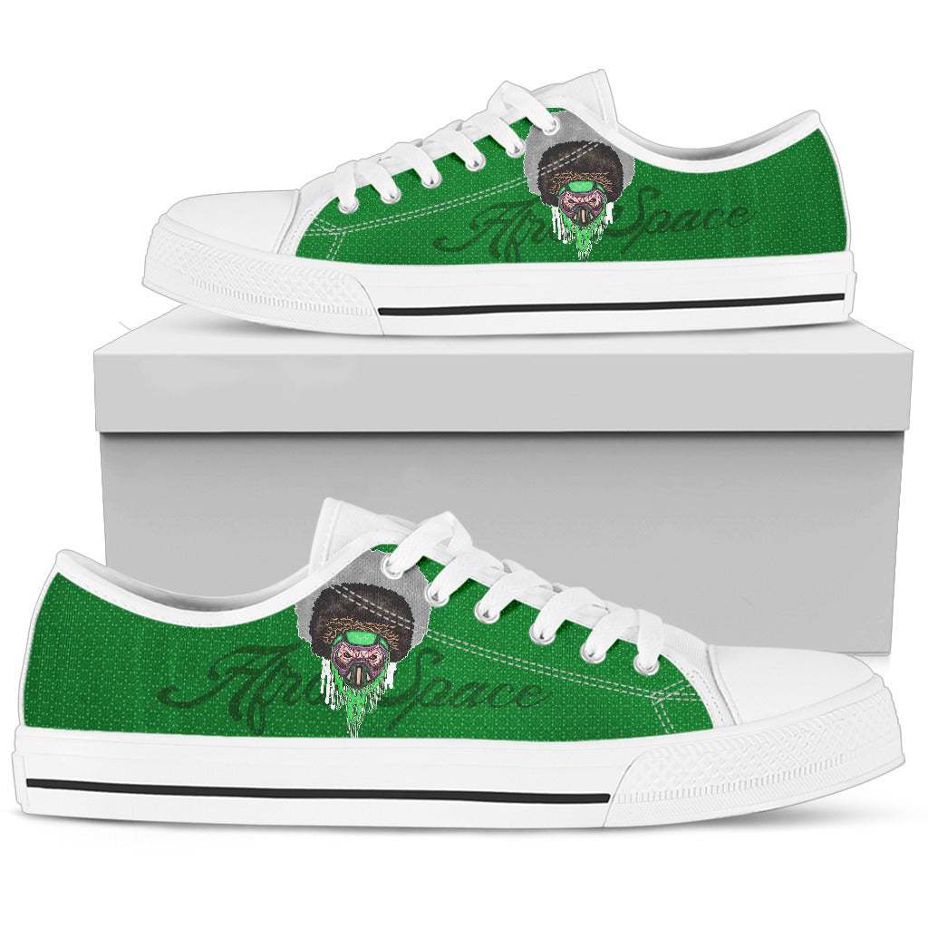 Afro Space Green Mens Low 3.0