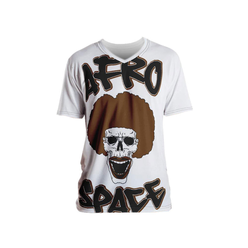 Afro Space Smile All Over Men's T-shirt - Afro Space