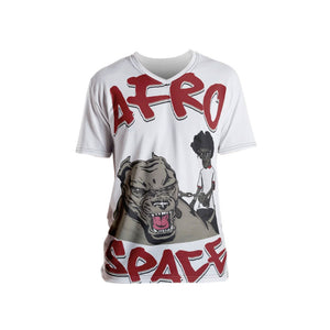 Man's Best Friend ALL Over Men's T-shirt - Afro Space