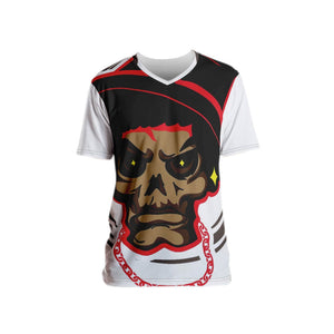 Mean Mug ALL Over Men's T-shirt - Afro Space