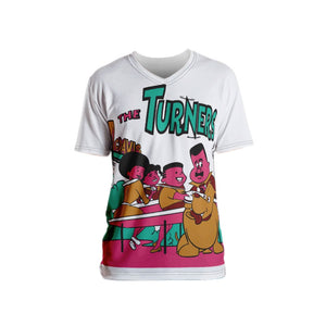 Turners 1.0 Men's T-shirt - Afro Space