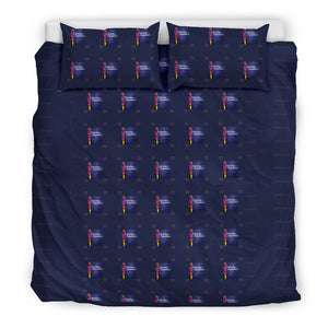 Afro Space Girls Bedding