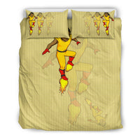 Afro Space Boys Yellow Bedding 3.0 - Afro Space