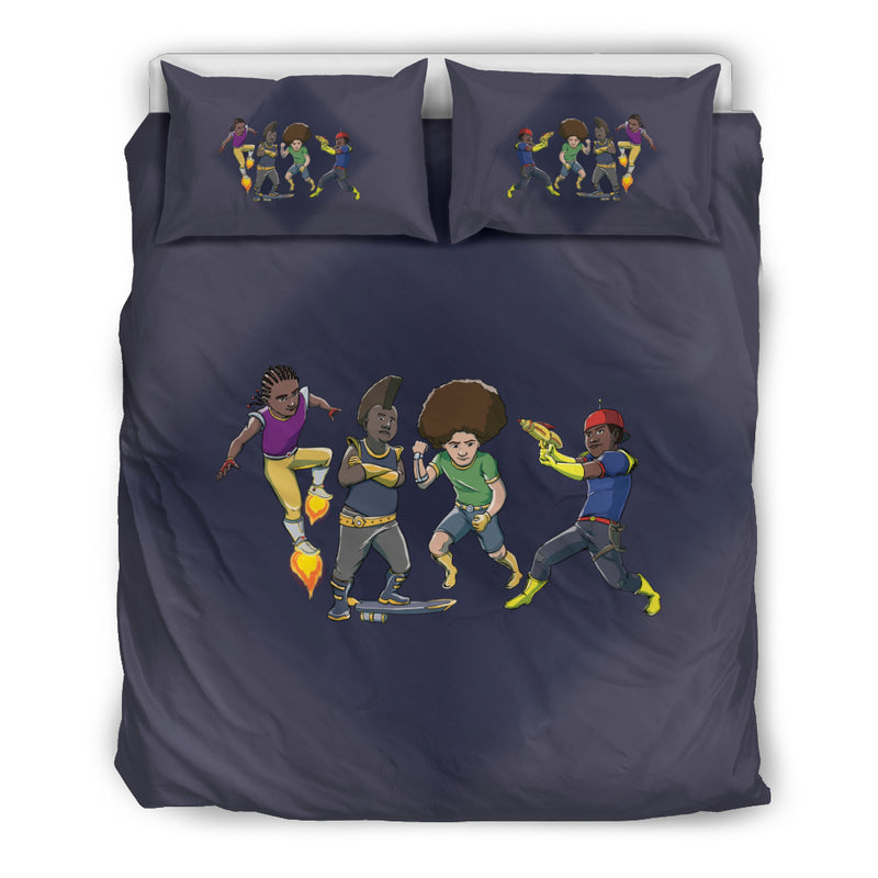 Afro Space Boys Bedding Combo - Afro Space