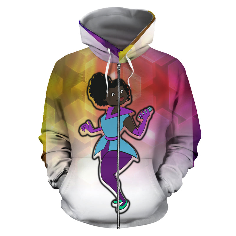 Turners Limited Edition Hoodie 45 - Afro Space