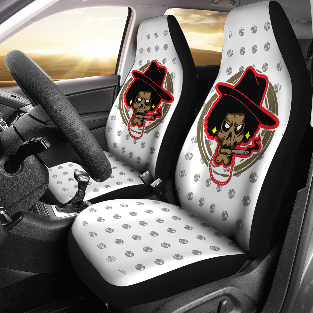 Smokers Car Seat - Afro Space