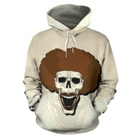 Afro Space Smile Wide Hoodie - Afro Space