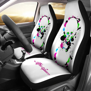 Afro Space Tye Dye Car Seat Covers - Afro Space