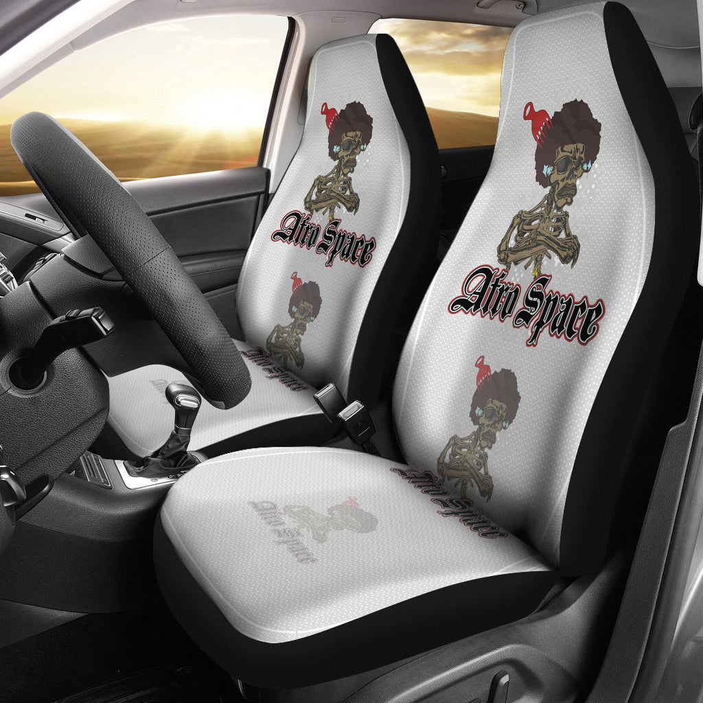 Afro Space Red Pick Car Seats