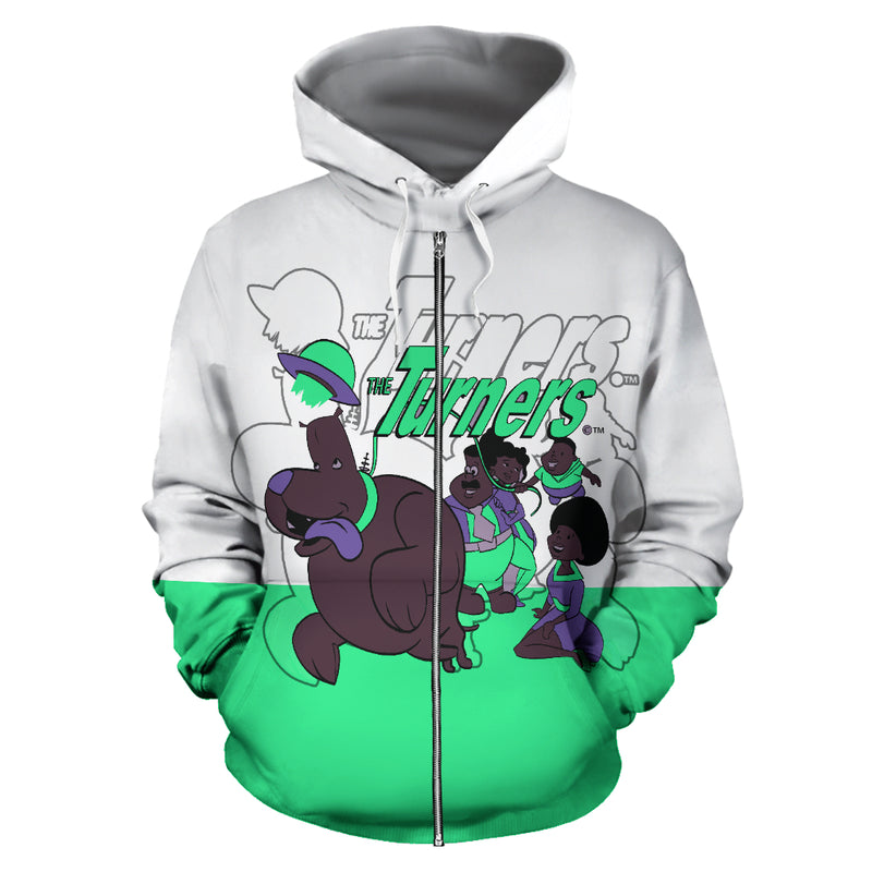 The Turners Bk 2 School Hoodie - Afro Space