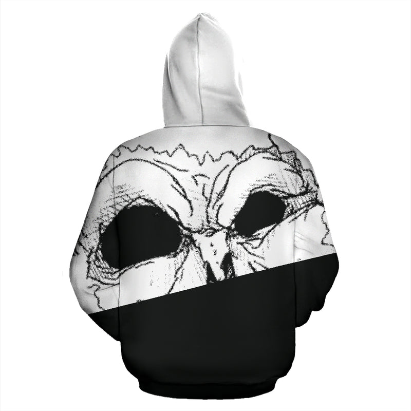 Mean Mug Split Hoodie - Afro Space