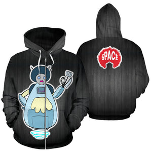 Turners Limited Edition Hoodie 47 - Afro Space