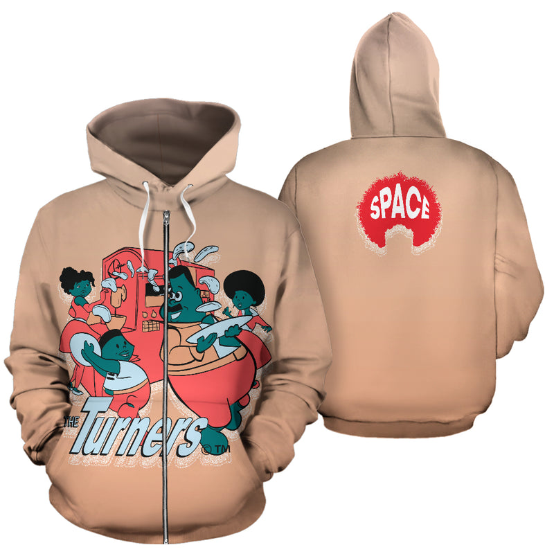 The Turners bk 2 School Hoodie Collection - Afro Space