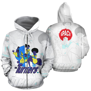 The Turners Hoodie - Afro Space