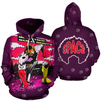 Brother GB Fist Down Hoodie - Afro Space