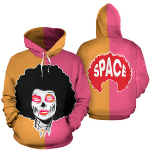 Split Minds Hoodie - Afro Space