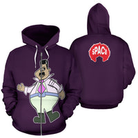 Turners Limited Edition Hoodie 43 - Afro Space