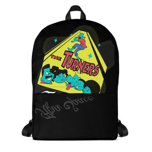 Turners Limited Edition Back Pack - Afro Space