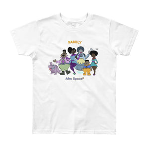 Youth  Turner Short Sleeve T-Shirt - Afro Space