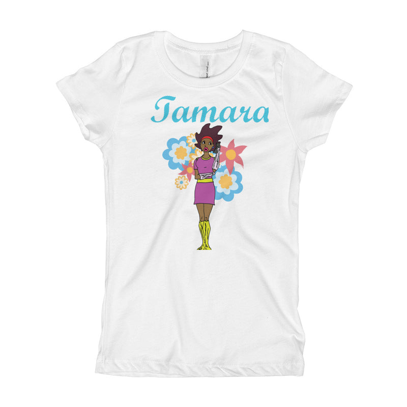 Afro Space Tamara Girl's T-Shirt - Afro Space