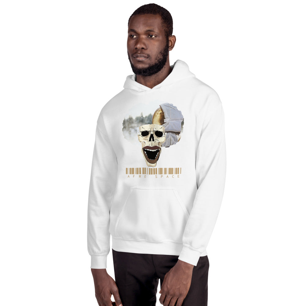 2019 Fall Collection Afro Space Cosmonaut Hooded Sweatshirt - Afro Space