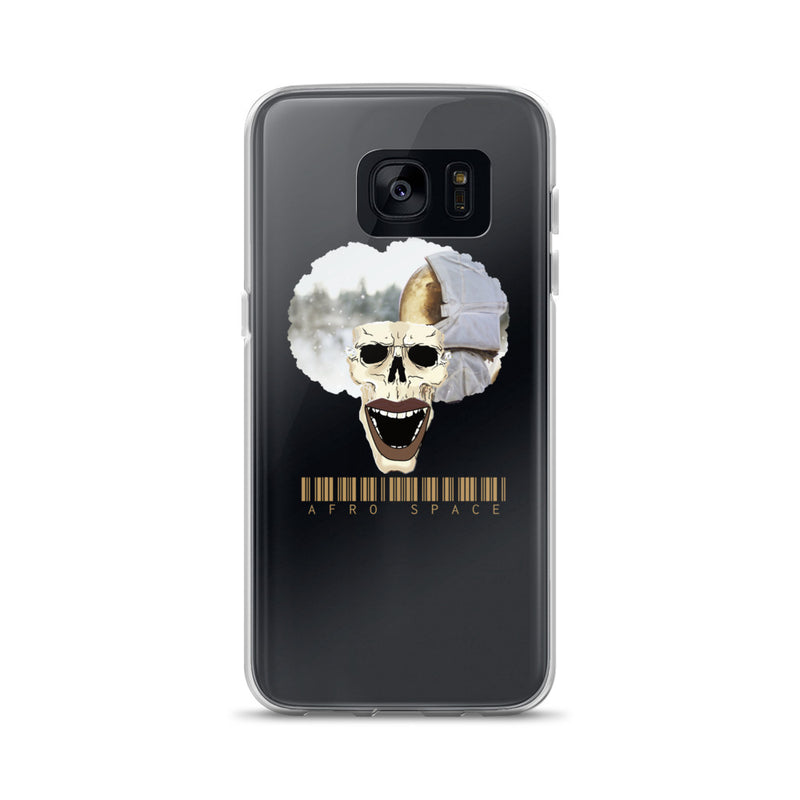 Afro Space Cosmonaut Samsung Case - Afro Space