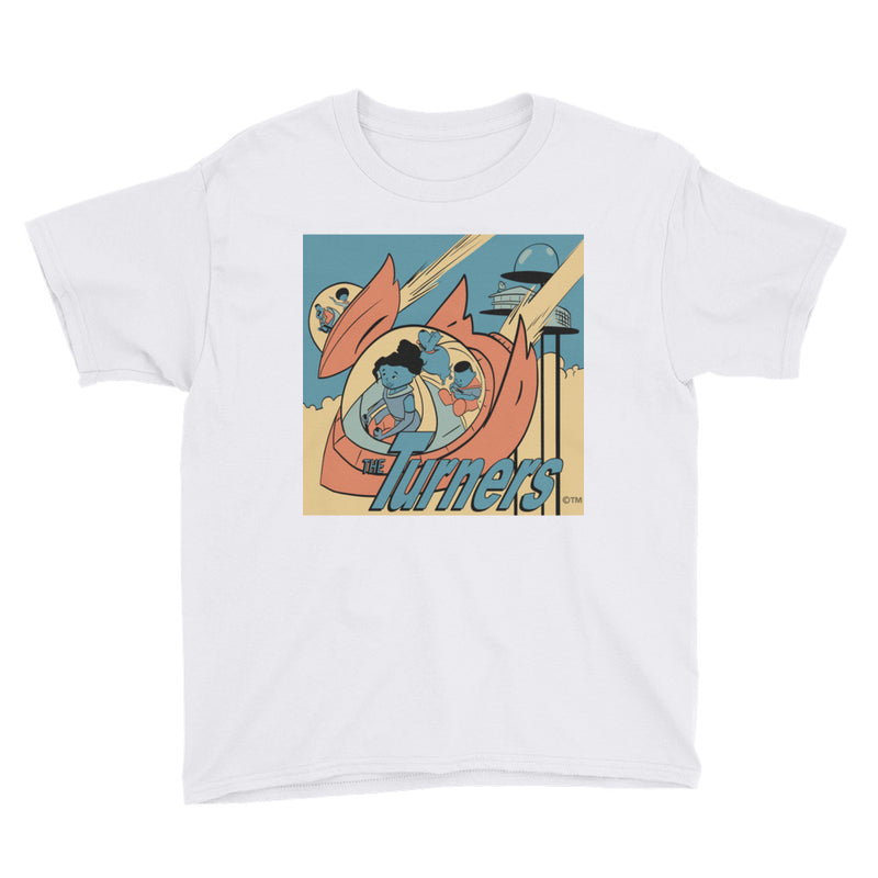 The Turners 3.0 Youth Short Sleeve T-Shirt - Afro Space