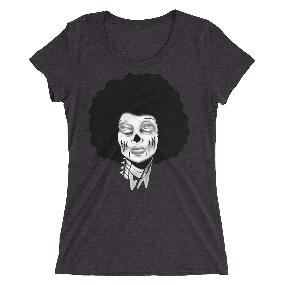 Afro Girl Ladies' short sleeve t-shirt