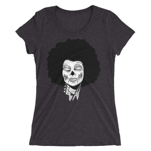Afro Girl Ladies' short sleeve t-shirt - Afro Space