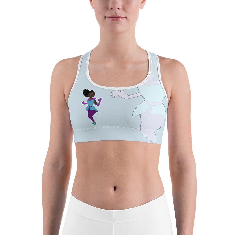 Sports bra - Afro Space