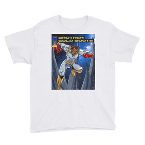 Youth Super Hero #3 Short Sleeve T-Shirt - Afro Space