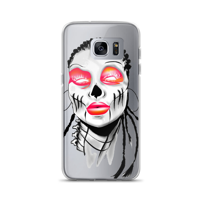 Afro Space SIsta Girl Pink Samsung Case - Afro Space