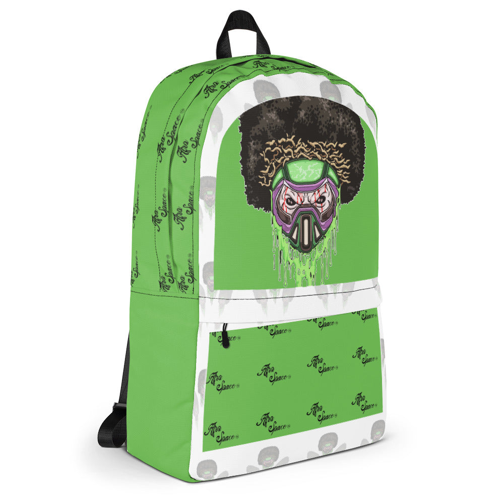 Afro Space New Toxic Bro Skull Backpack
