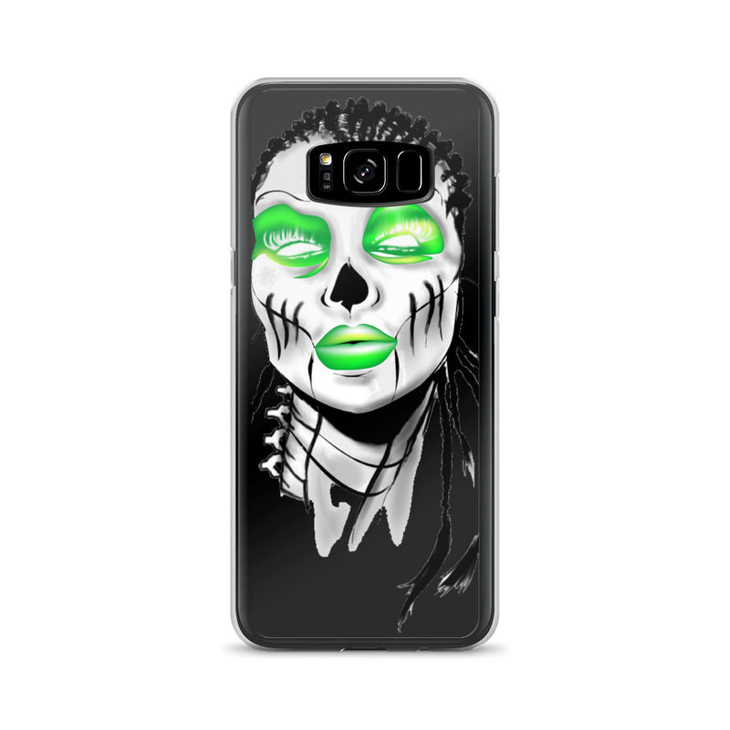 Afro Space SIsta Girl  Green Samsung Case - Afro Space