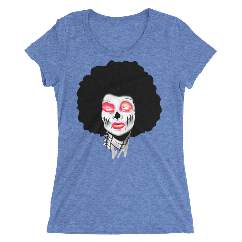 Sista Girl Red Ladies' short sleeve t-shirt - Afro Space