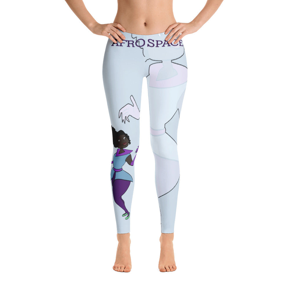 Afro Space Turners Leggings - Afro Space