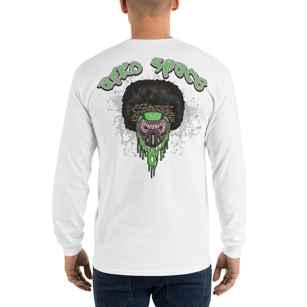 Long Sleeve T-Shirt Afro Green - Afro Space
