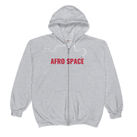 Afro Space Unisex Zip Hoodie - Afro Space